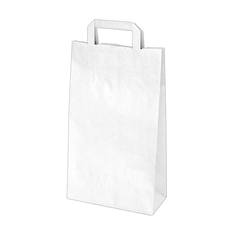 ac1a7eee9 Papierové tašky 22x10 x 38 cm biele [50 ks] | lovitech.sk - čistota ...