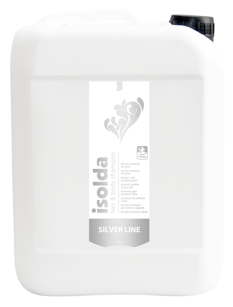 ISOLDA silver line hair & body shampoo 5L (zľava 22% do 30.4.2021)